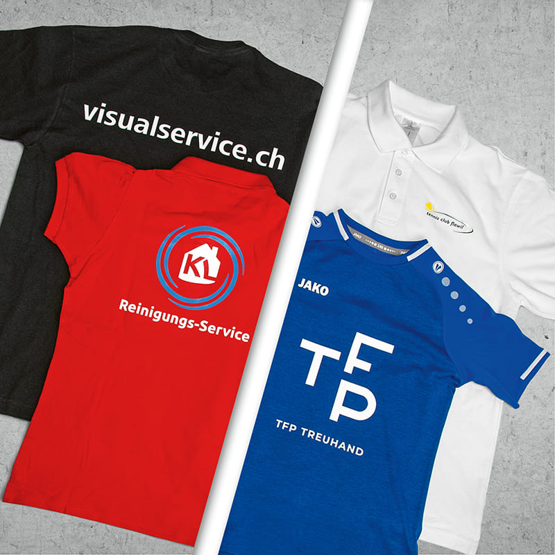 Visual Service AG Flyer T-Shirt